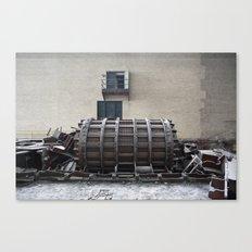 Dismantled Turbine Canvas Print
