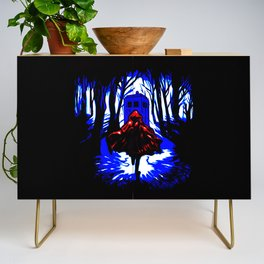Shadow Light Of Tardis Credenza
