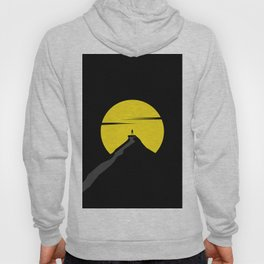 the moon the mountain Hoody
