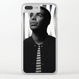 drake Clear iPhone Case
