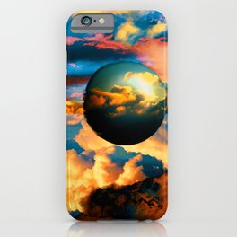 Cloud World iPhone Case