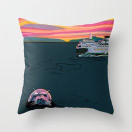 Secrets of the Sea Throw Pillow