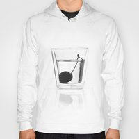 vodka Hoodies featuring Cherry Vodka  by Lucas Hayas