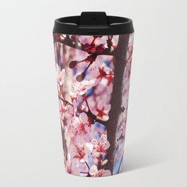 Pink Flowering Crabapple Tree Blooms Travel Mug
