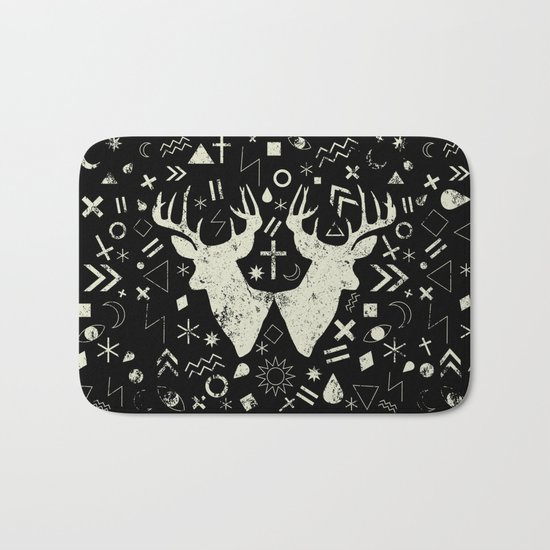 Punk pattern Bath Mat