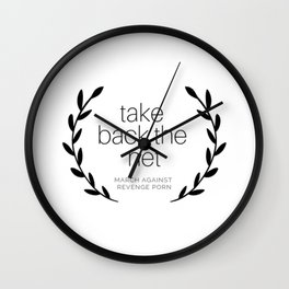 Take Back the Net. Wall Clock