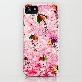 Dance in the Rain! iPhone Case