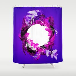 In Circle - III Shower Curtain