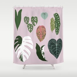 Leaves composition 1 Shower Curtain