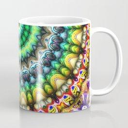 Colorful 3D Abstract Sun Coffee Mug
