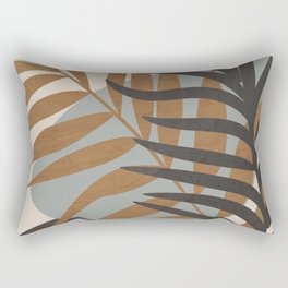 Abstract Tropical Art IV Rectangular Pillow