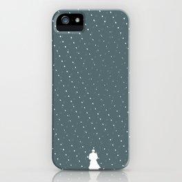 Rainy mood iPhone Case