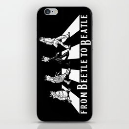 FROM BEETLE TO BEATLE iPhone Skin