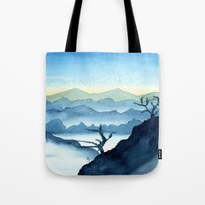 The Blue Ridge Tote Bag