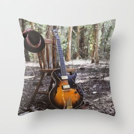 Sounds of Silence  Throw Pillow