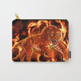 Fire Tiger Carry-All Pouch