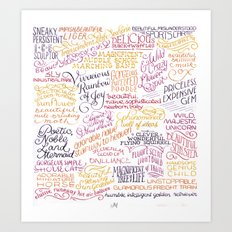 Ann, You… Art Print
