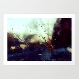 windshield life 3 Art Print