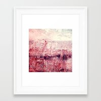 concrete Framed Art Prints featuring concrete by Claudia Drossert