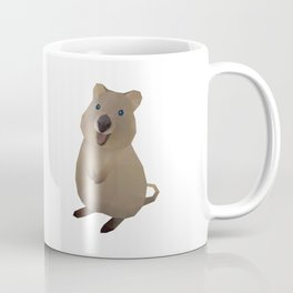 Quokka Polygon Art Kaffeebecher