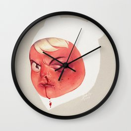 Occupational Hazard Wall Clock