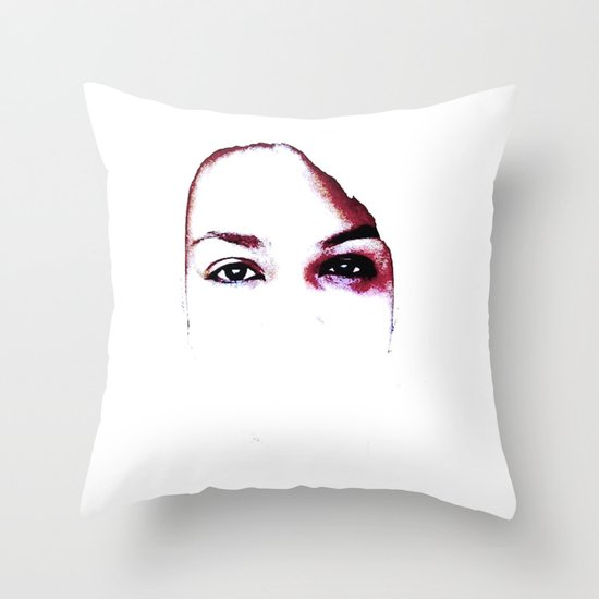 Say No Throw Pillow