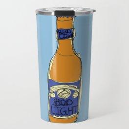 Bud Light Bottle Travel Mug