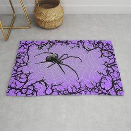 Briar Web- Purple Rug