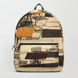 Tables and Chairs Backpack