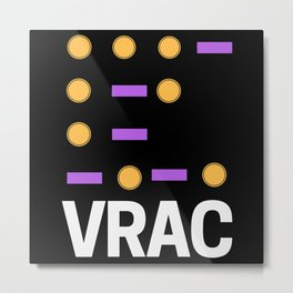 DISCOUNT BEATS EN VRAC Metal Print