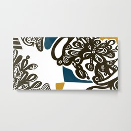 Flower Patch Metal Print