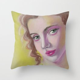 A strange kind of beautiful Throw Pillow