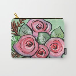 Roses for my Valentine Carry-All Pouch