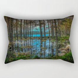 Woodland reflections Rectangular Pillow