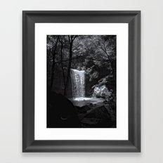 Ohiopyle's Cucumber Falls Framed Art Print