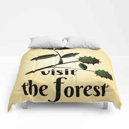 Visit The Forest Government poster Comforters
