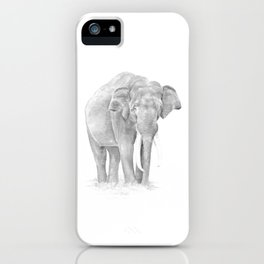 Elephant 'in charge' iPhone Case