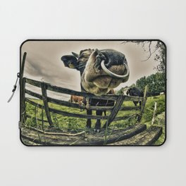 Holy cow its a bull Laptop Sleeve
