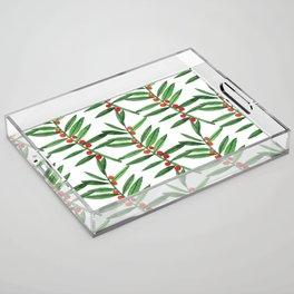 Christmas Botanical Acrylic Tray