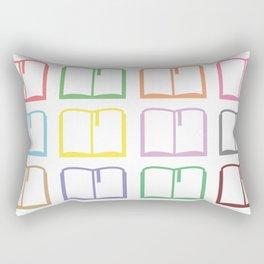 Livres hauts en couleur Rectangular Pillow