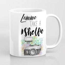 Lemme Take a #Shelfie Coffee Mug