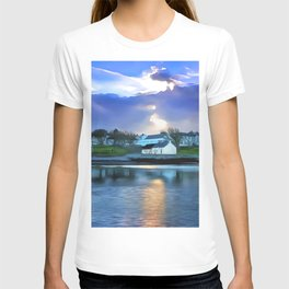 Cockle Row Cottages, Ireland. (Painting) T-shirt