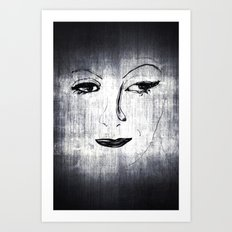 Greta (two) Art Print