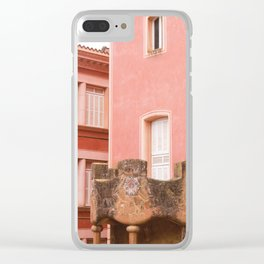 Gaudi house architecture! Clear iPhone Case