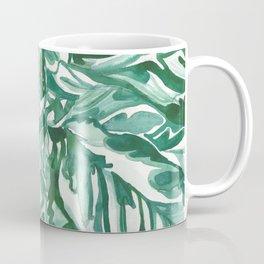 calathea leaves Coffee Mug