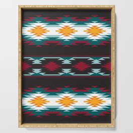 Native American Inspired Design Serving Tray