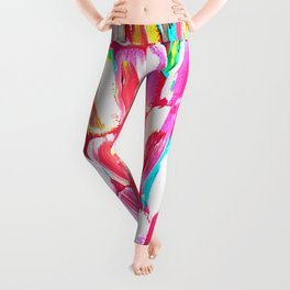 Pink Party Sugarcane Leggings