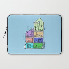 Home Sweet Home (Color) Laptop Sleeve