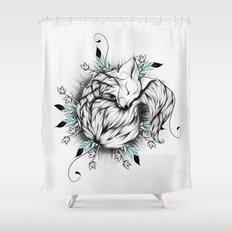 Little Fox  Shower Curtain