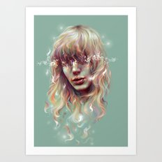 Enlighten Me Art Print